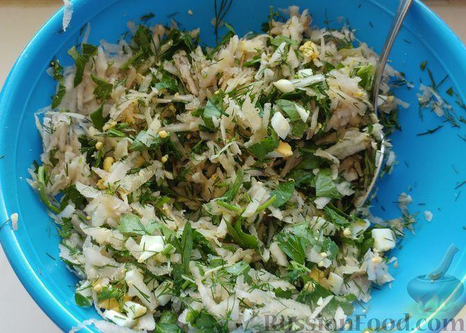 Фото приготовления рецепта: Салат из топинамбура - шаг №7