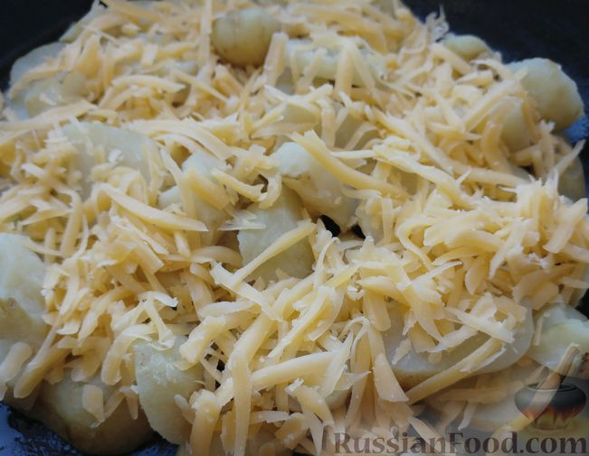 Фото приготовления рецепта: Топинамбур, запеченный с сыром - шаг №7