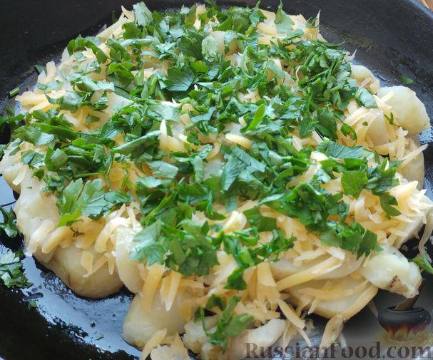 Фото приготовления рецепта: Топинамбур, запеченный с сыром - шаг №8