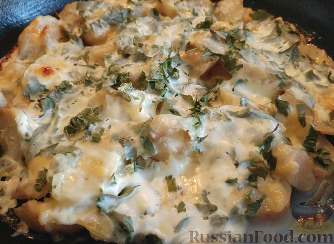 Фото приготовления рецепта: Топинамбур, запеченный с сыром - шаг №10
