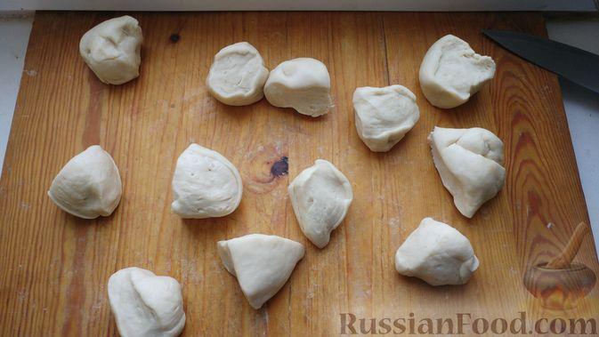 Фото приготовления рецепта: Двухцветное кефирное желе с какао - шаг №10
