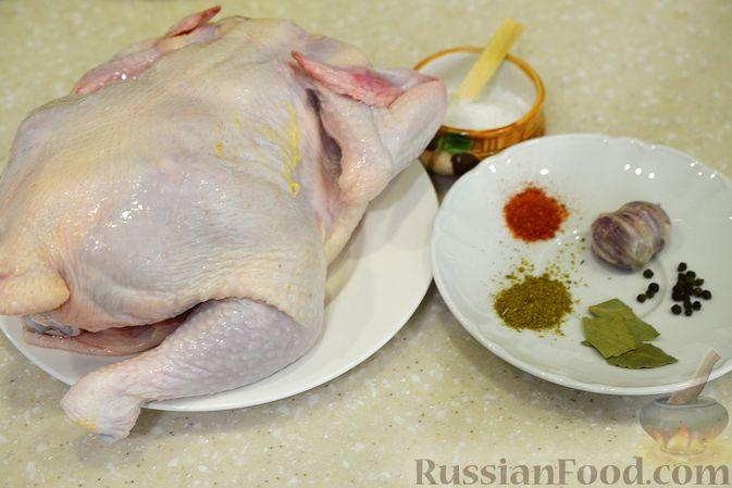 Фото приготовления рецепта: Говяжий суп с рисовой лапшой - шаг №7