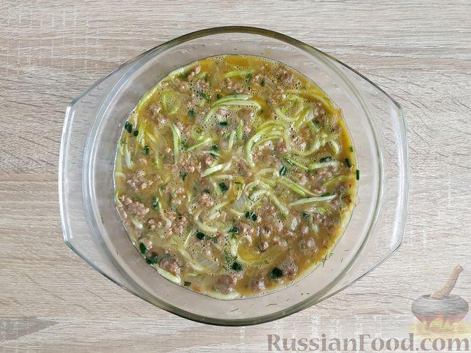Фото приготовления рецепта: Слоёный салат с говядиной, картофелем, морковью и кукурузой - шаг №11