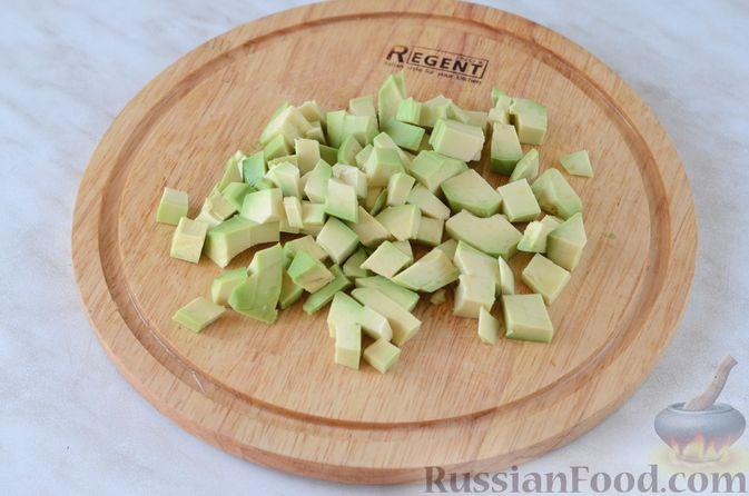 Фото приготовления рецепта: Капуста, тушенная с мясным фаршем и яблоками - шаг №1