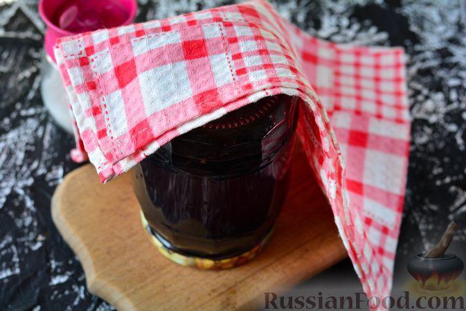 Фото приготовления рецепта: Компот из шелковицы на зиму - шаг №13