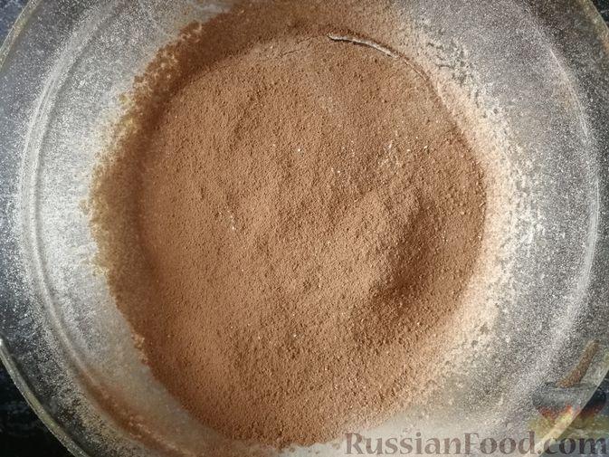Фото приготовления рецепта: Морковный киш c творогом и зеленью - шаг №11