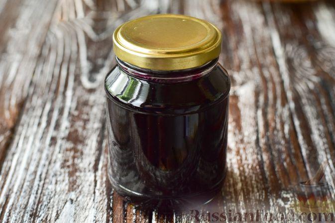 Фото к рецепту: Джем из чёрной шелковицы (на зиму)