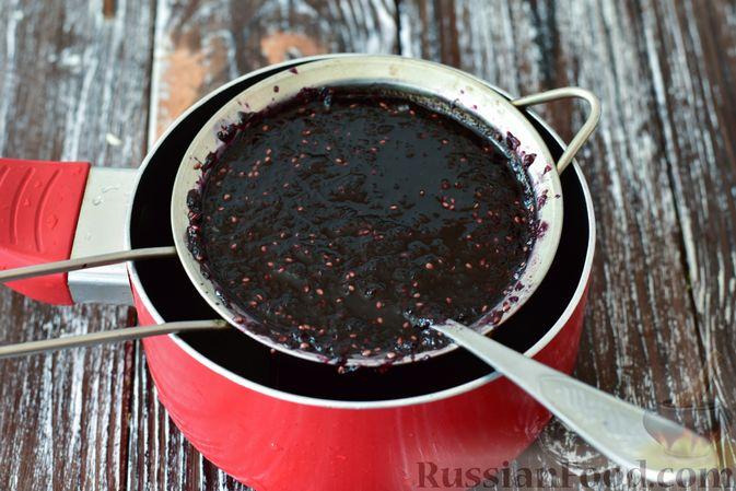 Фото приготовления рецепта: Джем из чёрной шелковицы (на зиму) - шаг №8