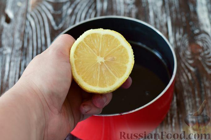 Фото приготовления рецепта: Джем из чёрной шелковицы (на зиму) - шаг №9
