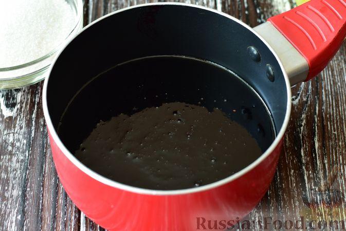 Фото приготовления рецепта: Джем из чёрной шелковицы (на зиму) - шаг №10