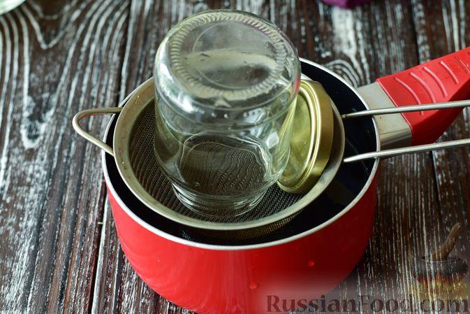 Фото приготовления рецепта: Джем из чёрной шелковицы (на зиму) - шаг №11