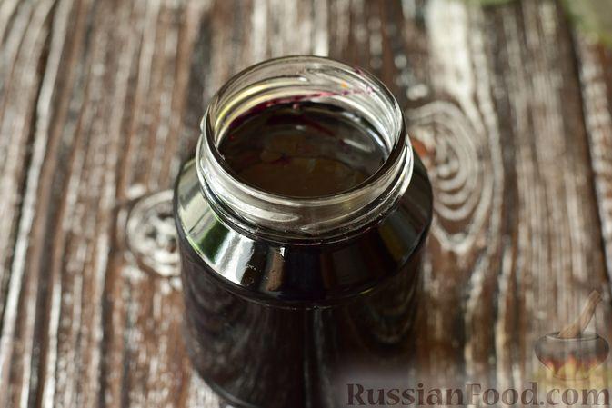 Фото приготовления рецепта: Джем из чёрной шелковицы (на зиму) - шаг №12