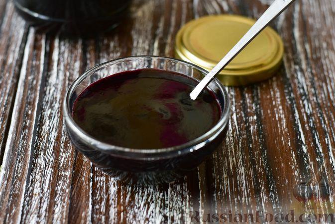 Фото приготовления рецепта: Джем из чёрной шелковицы (на зиму) - шаг №13