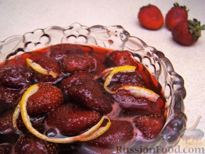 Фото к рецепту: Варенье клубничное по-французски