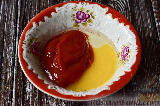 Фото приготовления рецепта: Запечённая цветная капуста в томатно-медовом соусе - шаг №8