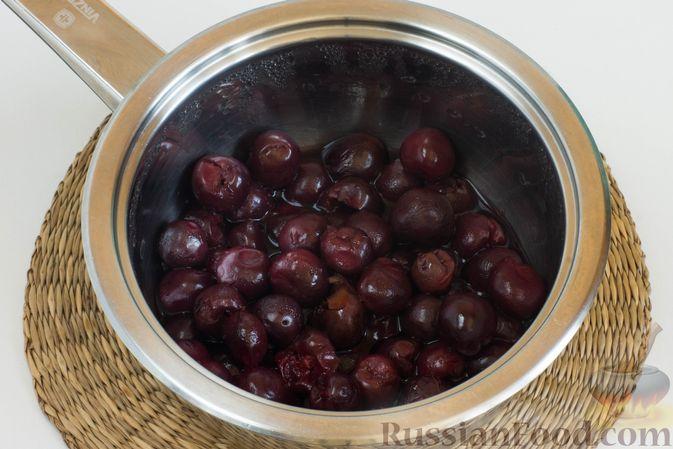 Фото приготовления рецепта: Джем из черешни на зиму - шаг №3