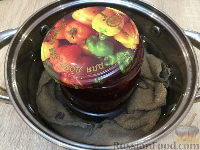 Фото приготовления рецепта: Джем из красной смородины и малины - шаг №12