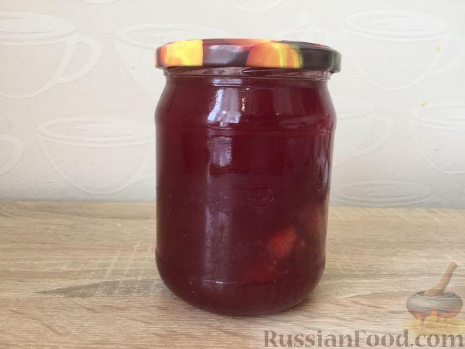 Фото приготовления рецепта: Джем из красной смородины и малины - шаг №13
