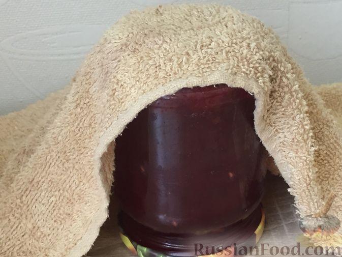 Фото приготовления рецепта: Джем из красной смородины и малины - шаг №14