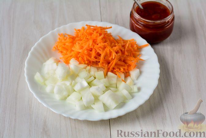 Фото приготовления рецепта: Запеканка из йогурта с ягодами - шаг №1