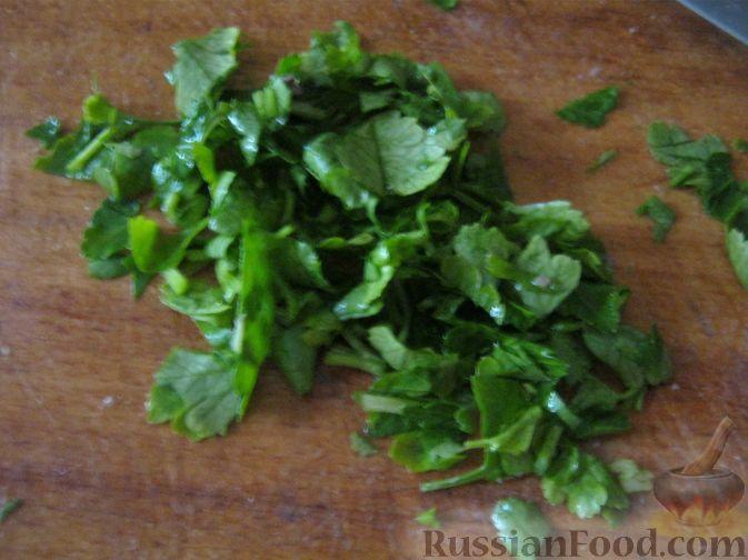 Фото приготовления рецепта: Салат-коктейль из авокадо - шаг №8