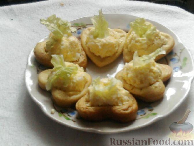 Рецепт Бисквитные корзиночки (универсальные)