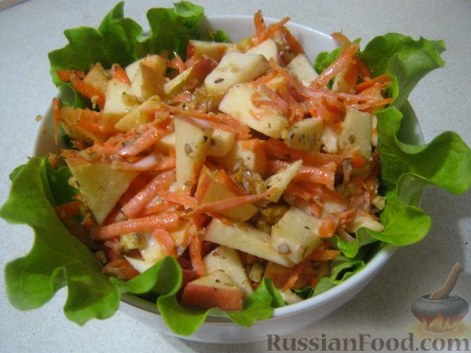 Рецепт Сладкий салат «Оранжевое чудо»