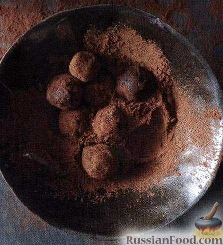 Рецепт Классические шоколадные трюфели