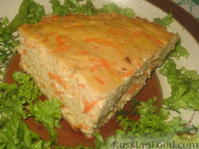 Рецепт Запеканка из куриного фарша и овощей