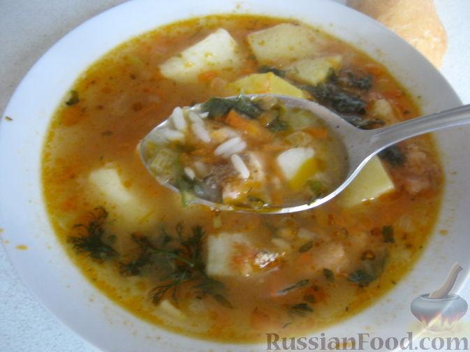 суп из бычков в томатном соусе рецепт с фото