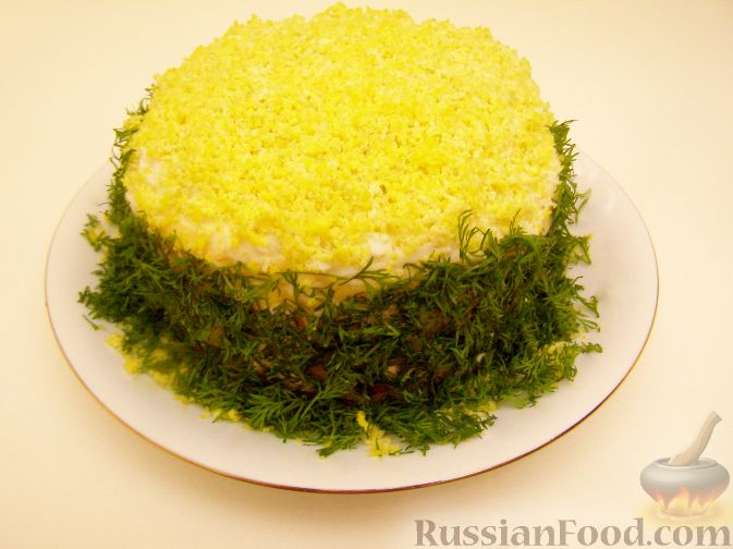 """Рецепт Салат """"Очень празднично"""""""