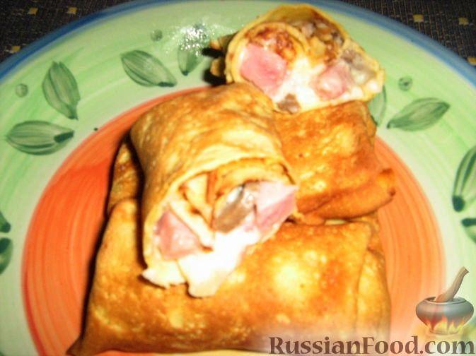 Рецепт Блинчатые пирожки по-сицилийски