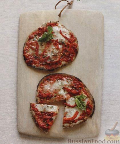 Рецепт Быстрая пицца из питы