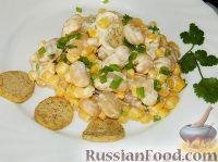 """Фото к рецепту: Салат с фасолью """"Емельян"""""""