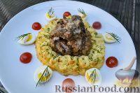 Фото к рецепту: Куриная печень в сливочно-медовом соусе