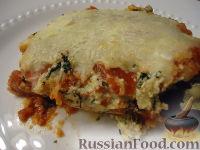 Фото к рецепту: Баклажанная лазанья
