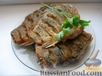Фото к рецепту: Жареные караси
