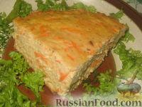 Фото к рецепту: Запеканка из куриного фарша и овощей