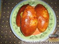 Фото к рецепту: Пирожки с сердцем и пирожки с картошкой
