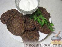 Фото к рецепту: Котлеты из куриной печени