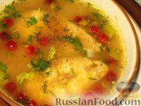 Фото к рецепту: Овощной суп с тунцом