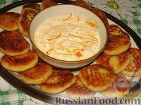 Фото к рецепту: Апельсиновые сырники