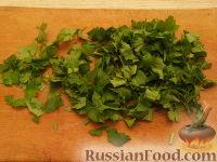 Фото приготовления рецепта: Салат ассорти из морепродуктов - шаг №8