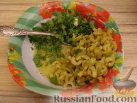 Фото приготовления рецепта: Салат ассорти из морепродуктов - шаг №10