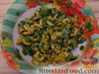 Фото приготовления рецепта: Салат ассорти из морепродуктов - шаг №11
