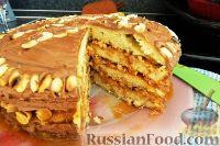 "Фото к рецепту: Торт ""Сникерс"""