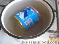 Фото приготовления рецепта: Крем из сгущенки - шаг №3
