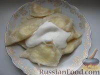 Фото к рецепту: Тесто для вареников (2)