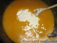 Фото приготовления рецепта: Суп-пюре из тыквы и картофеля - шаг №8