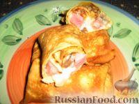 Фото к рецепту: Блинчатые пирожки по-сицилийски
